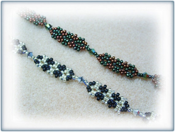 Plates necklace beading TUTORIAL