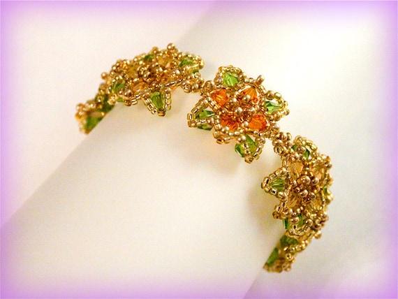 Rosone bracelet beading TUTORIAL