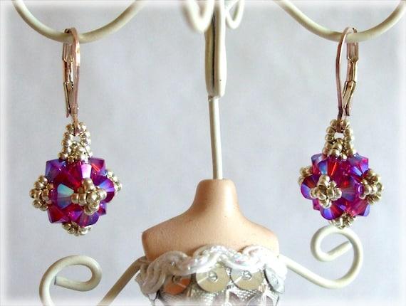 Penelope earrings / pendant beading TUTORIAL
