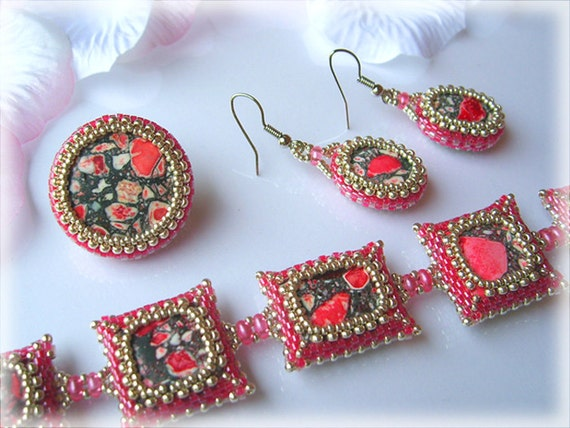 Minerale set beading TUTORIAL