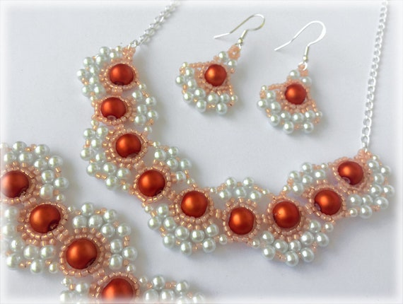 PearlWaves set beading TUTORIAL