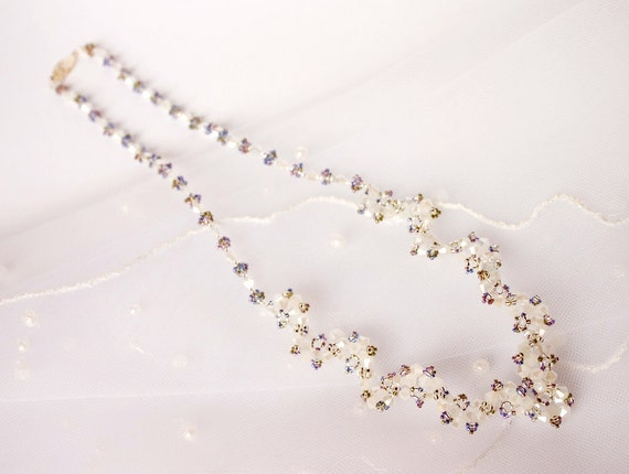Levander necklace beading TUTORIAL