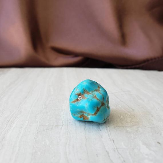 Kingman Turquoise Tumbled Stone 7.2 g Genuine Arizona Turquoise