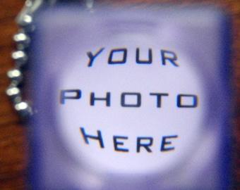 CUSTOM PHOTO & WORDS. Nostalgic Novelty Photo Viewfinder. Photo Included.