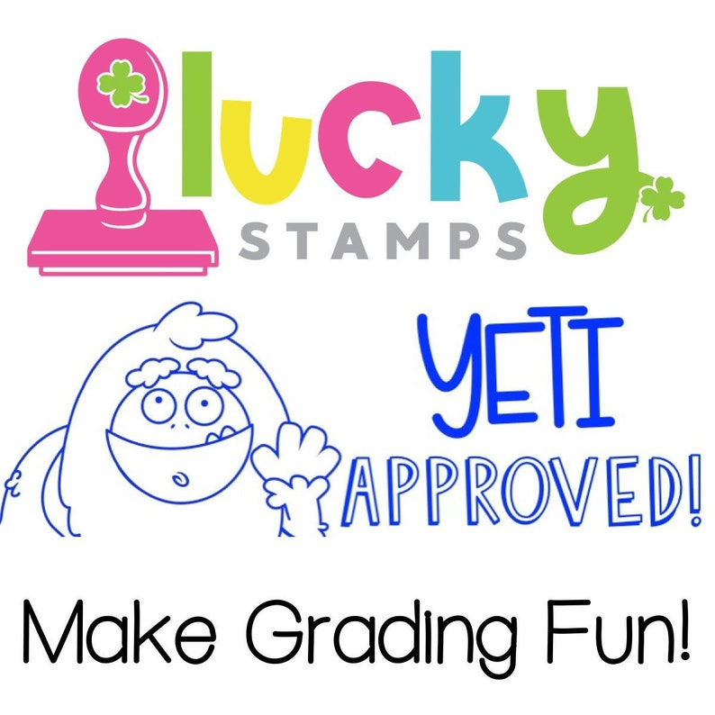 Yeti Approved Self-Inking Teacher Stamp image 0
