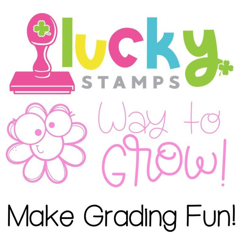 Way to Grow Self-Inking Teacher Stamp image 0