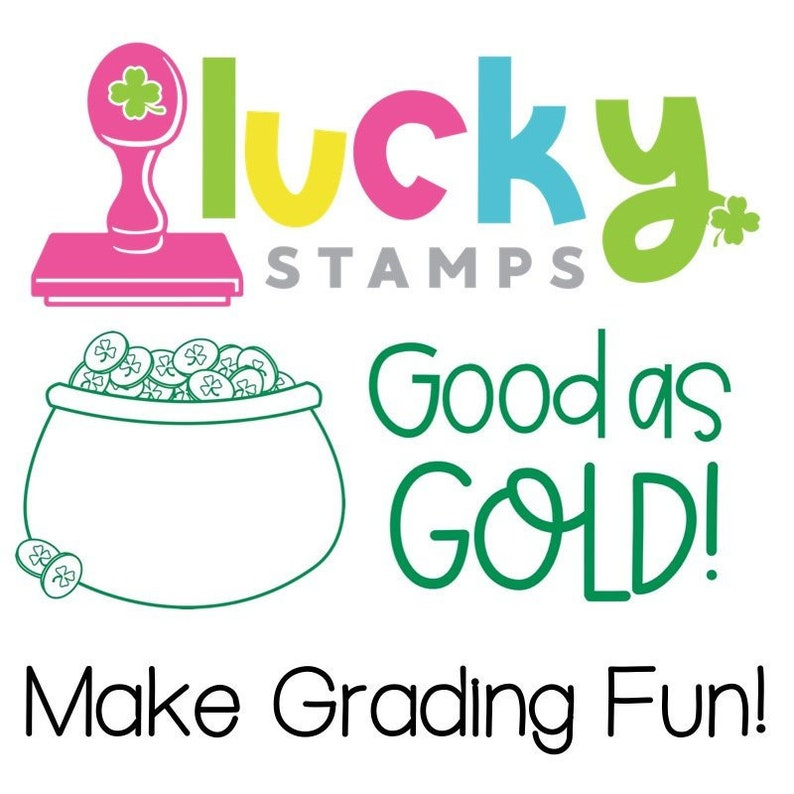 Good as Gold Self-Inking Teacher Stamp image 0
