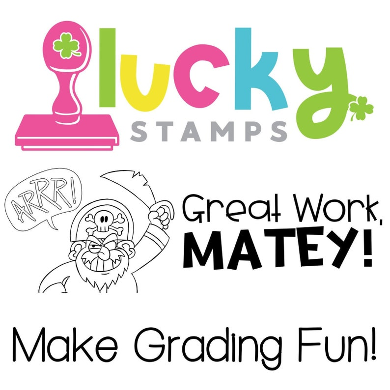 Great Work May Self-Inking Teacher Stamp image 0