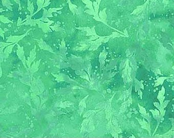 Half Yard Fern Green Essence Fabric Quilting Cotton Northcott