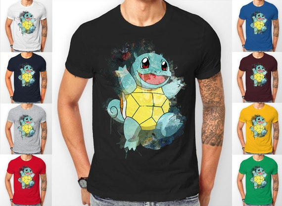 Pokemon Squirtle starter's catch 'em all Tee shirt T-Shirt