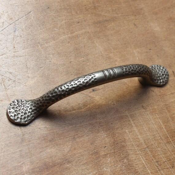 5 X Meuble Cuisine Tiroir Tire Poignées antique fer finition en Métal Poignée