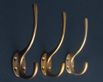 Classic Brass Hat & Coat Hook