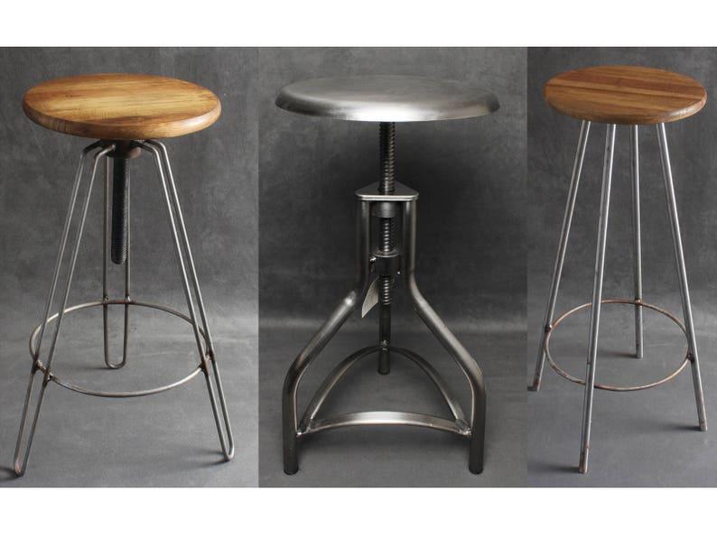 Vecchio legno sgabello vintage retrò design culto sedia cucina ebay