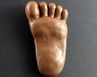 Bigfoot Fridge Magnet - Brown