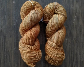 Hand Dyed Yarn - 'Dune' - Griffin DK - Non-Superwash Bluefaced Leicester - 280 yards 115 grams