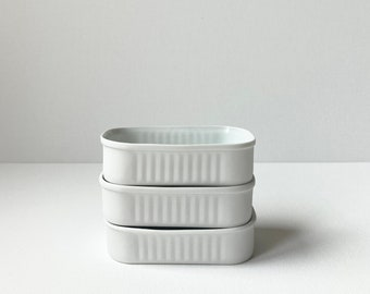 Porcelain sardine tin (set of 3)