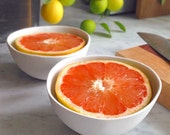 Special Set of 2 Citrus Bowls