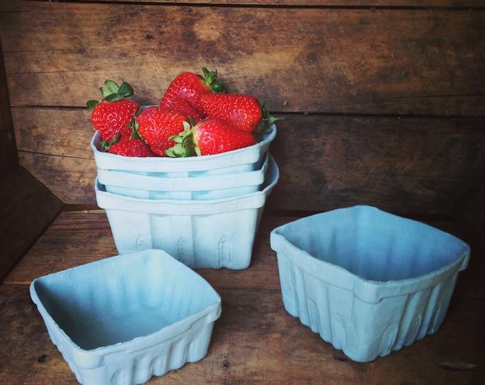 Featured listing image: Porcelain Berry Basket- Set of 3 (Lg,Md,Sm)