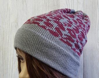 d4309bd551181 Knit Slouchy Beanie Hat