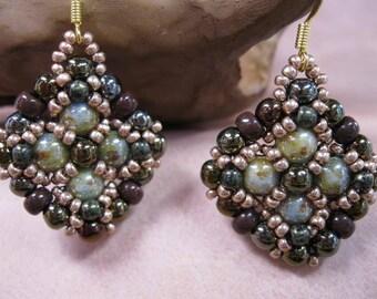 Mosaic Tiles Earrings