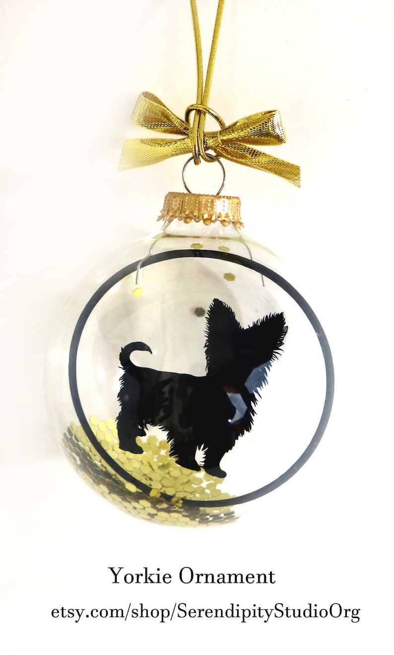 Yorkie Ornament Gifts for Animal Lovers Pet Loss Dog image 0