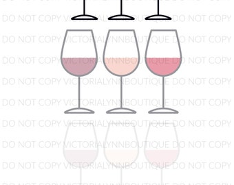 SAY WHEN - PNG File for Sublimation - Sublimation Design Download - Instant Digital Download, Wine Glass Design, Too Much to Drink Design