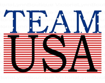 Team USA For Sublimation Printing, Patriotic Png, American Flag, Patriotic T-Shirt Png, America Png, Instant Digital Download, USA Png