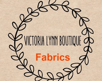 FABRIC CHART - Fabrics for Patches, Single Name Patches, Memory Pillow Patches