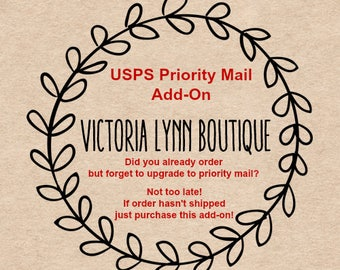 PRIORITY MAIL Upgrade, USA Only, Contact me prior to use, Add Postage to Upgrade Shipping Method, Upgrade from First Class to Priority Mail