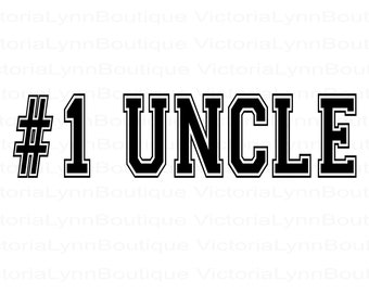 Number 1 Uncle For Sublimation Printing, Father's Day Png, PNG File, #1 Uncle Design, Family Png, Instant Digital Download, Tshirt design