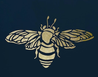 Bumble Bee Stencil for Walls & Furniture  ST2