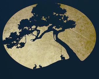 Tree Stencil for Art,  ST65