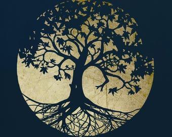 Tree Stencil for Art,  ST37