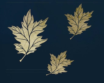 Oak Leaves, Stencil, for Art, ST43