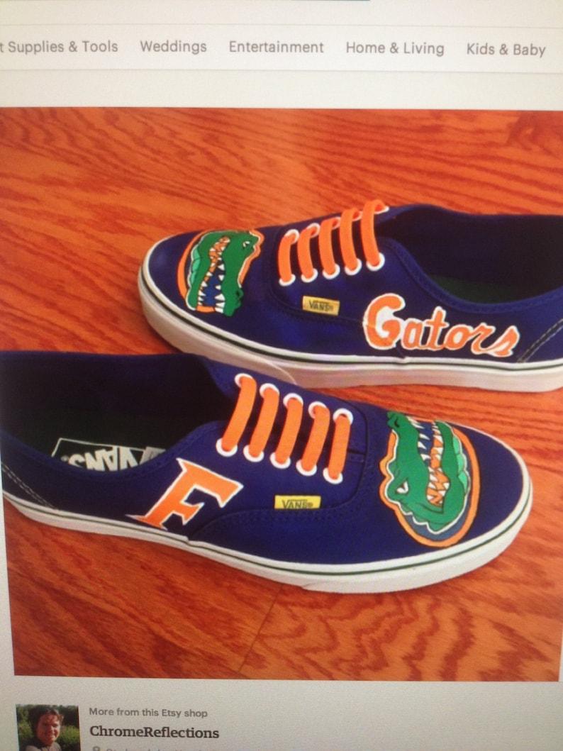 7eddfae07834 Florida Gators Converse Hand Painted