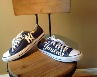New York Yankees Custom Converse