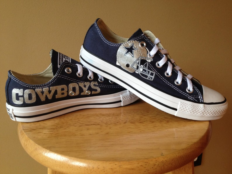 0a861d8bfc78 Dallas Cowboy hand painted Shoes