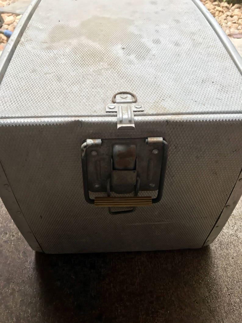 Vintage aluminum Coca Cola cooler