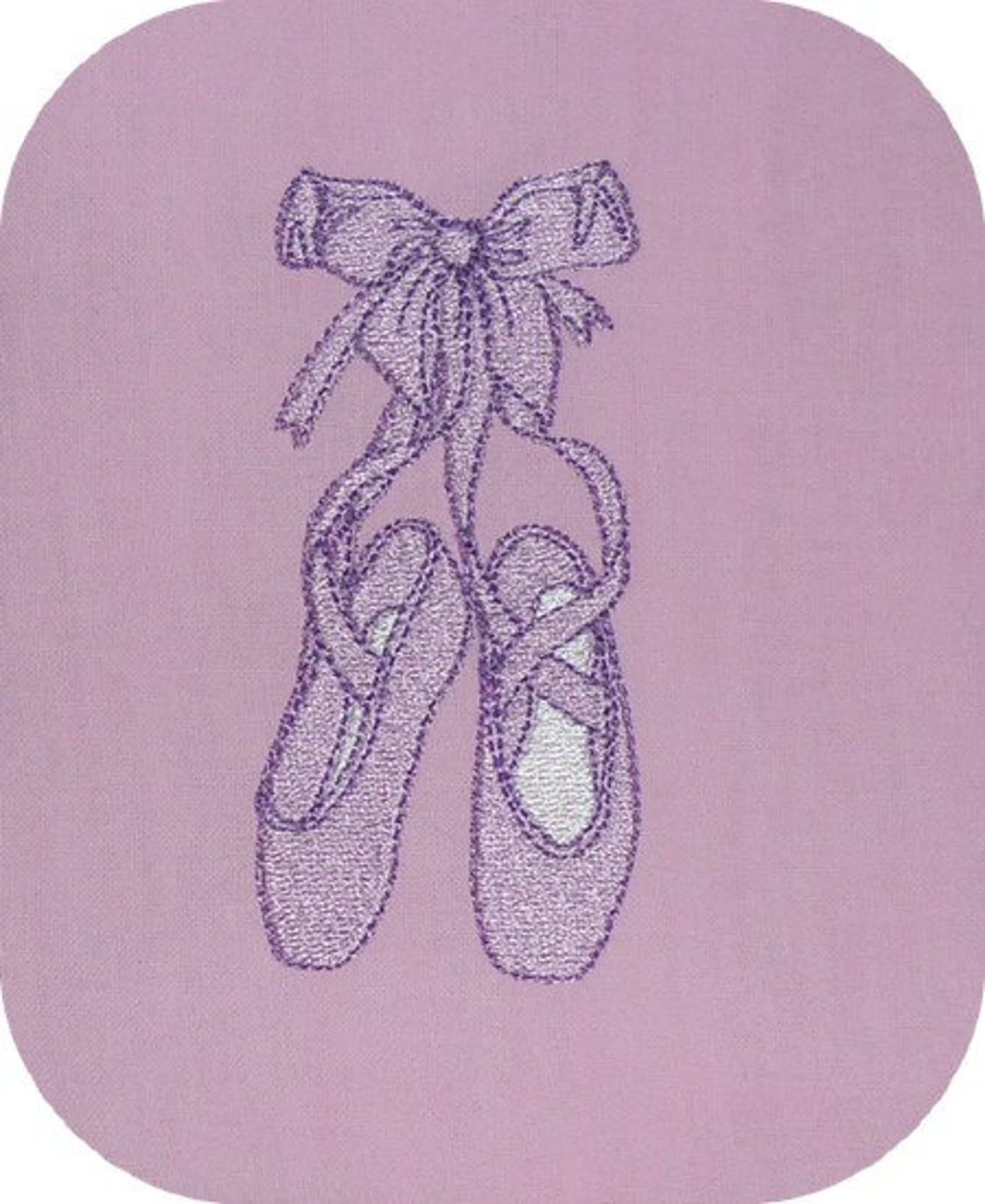 instant download machine embroidery dance shoes ballet