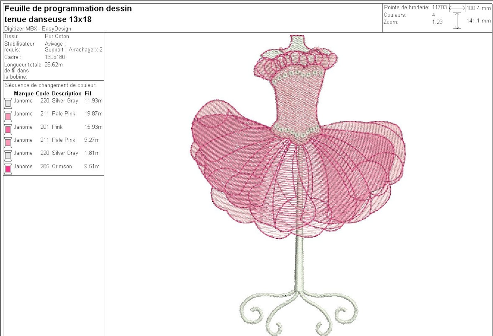 instant download machine embroidery design ballet dancer holding