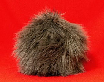 Small Tribble Throw Pillow - Cute Gift for Star Trek Fans - Charcoal - Nerdy Home Decor Pillow -  FREE US SHIPPING on Eligible Orders
