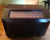 RCA Victor Radio, Vintage 1950u, RCA Model 9-X-651, Superheterodyne, made in USA