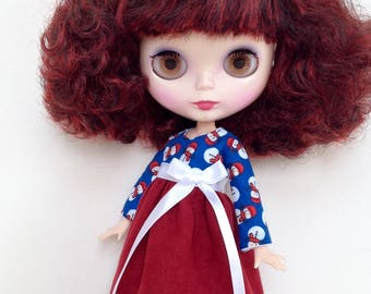 Holiday dress for Blythe