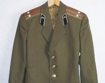 Soviet Army Jacket Etsy