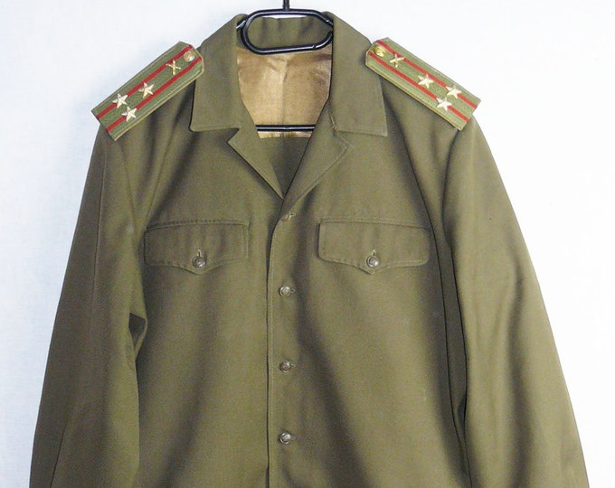 Russian Soviet Military Army Uniform Daily Military Jacket Tunic Colonel Blazer