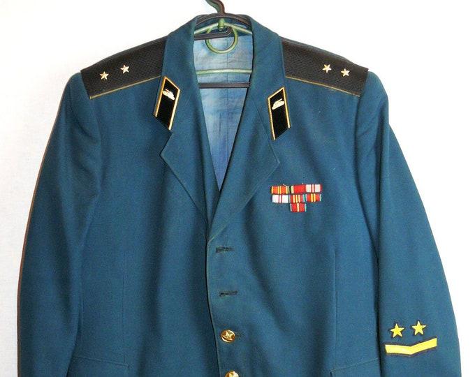 Uniform Jacket Parade Blazer Soviet Russian Army Tunic Ensign Military