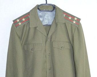 Russian Soviet Army Military Uniform Daily Military Jacket Tunic Colonel Blazer