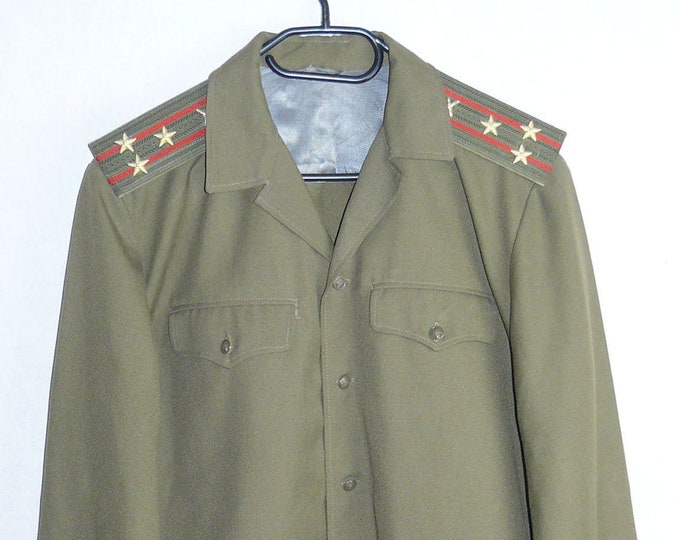 Russian Soviet Army Military Uniform Daily Military Jacket Tunic Colonel Blazer