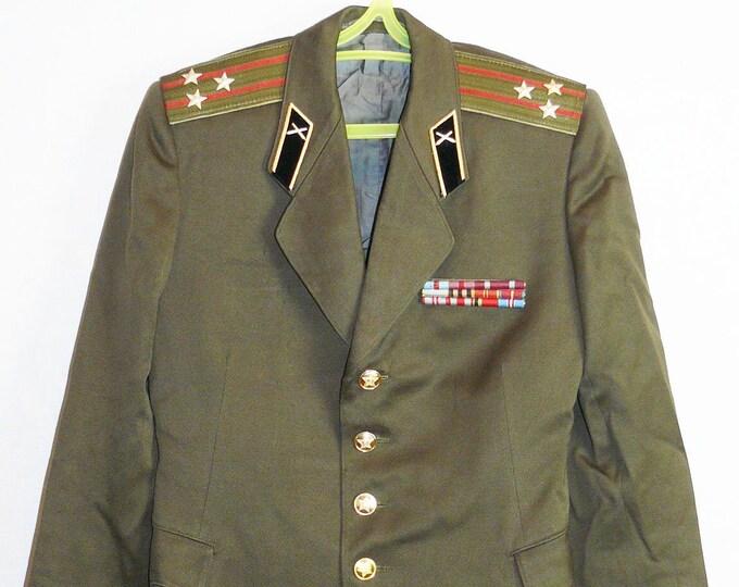 Russian Colonel Blazer Soviet Army Military Uniform Daily Military Jacket Tunic