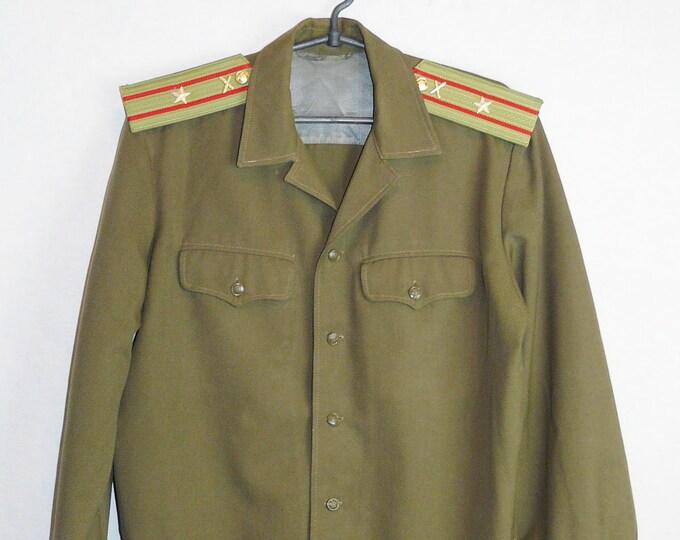 Blazer Major Daily Jacket Tunic Original Soviet USSR Russian Military Uniform